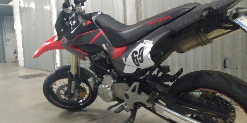 Honda FMX: ciclistica