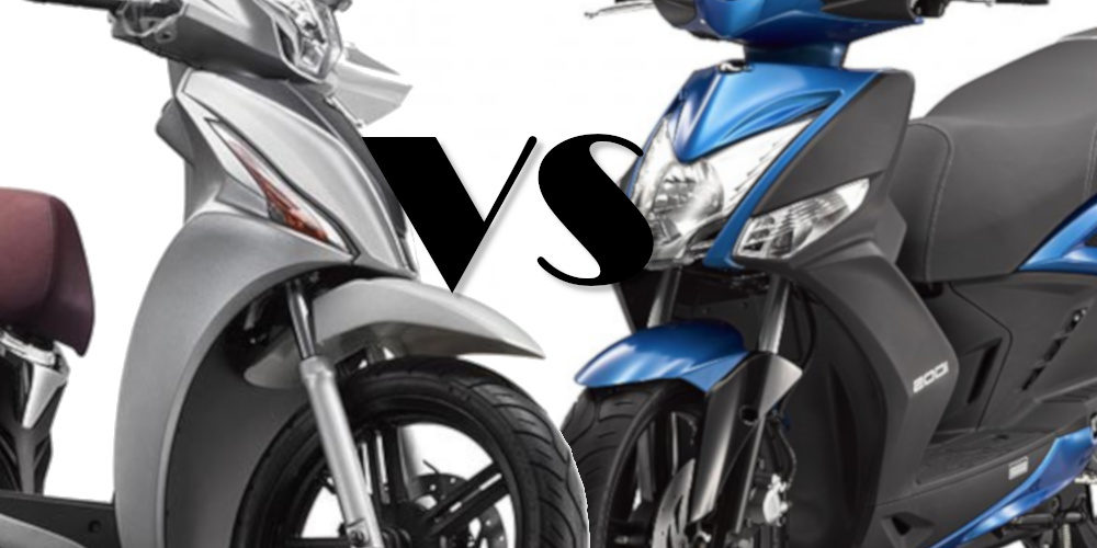 comparativa: Kymco Agility 150 vs People S 150